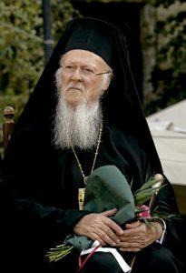 el patriarca ecuménico Bartolomé I en el concilio de las Iglesias ortodoxas en Creta junio 2016