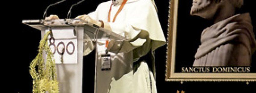 Fray Bruno Cadoré, maestro de la Orden de Predicadores, en el Congreso Educar OP 2016 800 hacia la sabiduría, en el 800 aniversario de los dominicos, Madrid julio 2016
