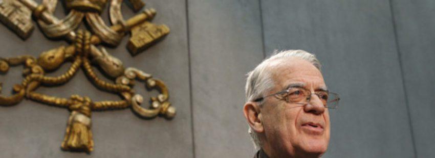 padre jesuita Federico Lombardi, durante 10 años director de la Oficina de Información de la Santa Sede