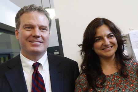 Greg Burke y Paloma García Ovejero, nuevos responsables de la Oficina de Prensa de la Santa Sede 11 julio 2016