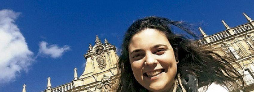 Lorena Morais, joven de la diócesis de Valladolid que colabora como voluntaria en pastoral penitenciaria y viajará a la JMJ Cracovia 2016