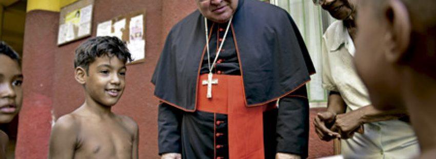Orani Joao Tempesta, cardenal arzobispo de Río de Janeiro, Brasil