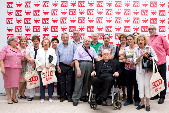 evento número 3000 de Vida Nueva Casa de Vacas en el Retiro Madrid, 8 julio 2016