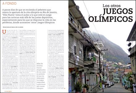 apertura A fondo VN Los otros Juegos Olímpicos 2999 julio 2016
