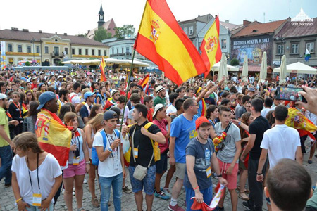 Bochnia ciudad de Polonia acoge a 5.200 españoles JMJ Cracovia 2016 festival acogida