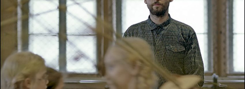 fotograma de la película La clase de esgrima
