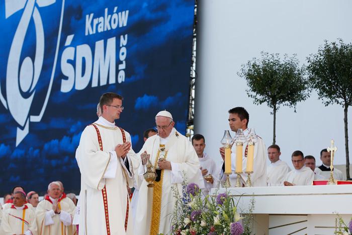 papa Francisco clausura la JMJ Cracovia 2016 31 julio 2016