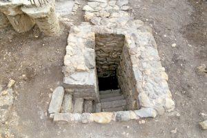 excavaciones en la antigua Magdala, ciudad de María Magdalena