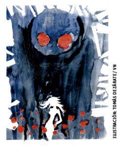 ilustración de Tomás de Zárate para artículo de María de la Válgoma 2999 julio 2016