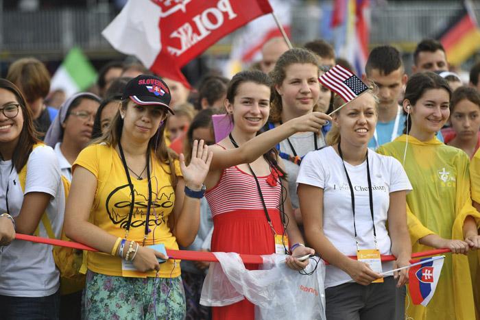 misa de apertura de la JMJ Cracovia 2016 en el Parque Blonia 26 julio 2016