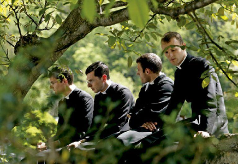 Seminaristas lefebvrianos en Econe, Suiza