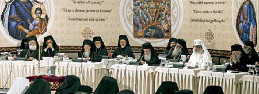 sesión del concilio de las Iglesias ortodoxas en Creta junio 2016