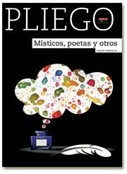 portada Pliego Místicos, poetas y otros 2996 julio 2016