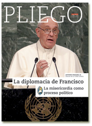 portada Pliego VN La diplomacia de Francisco y la misericordia 2998 julio 2016
