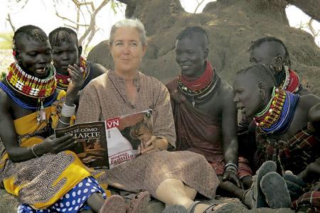 Cecilia Puig, religiosa española en Kenia