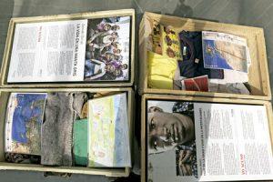exposicion 11 vidas en 11 maletas en Madrid agosto septiembre 2016 para concienciar sobre los refugiados