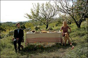 fotograma de la película Pastel de pera con lavanda