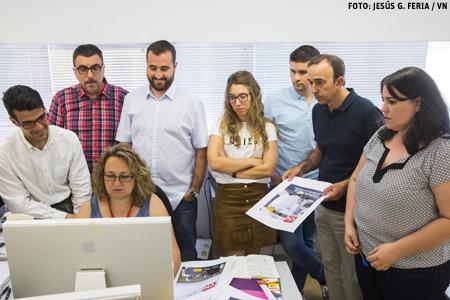 el equipo de redacción y periodistas de Vida Nueva junio 2016 José Beltrán, Sonsoles Hernández, José Luis Celada, Miguel Ángel Malavia, María Pérez, Rubén Cruz, José Lorenzo y María Gómez