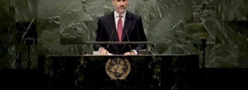 rey Felipe VI en la cumbre extraordinaria de la ONU 20 septiembre 2016