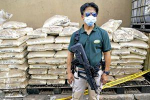 policía interviene un alijo de droga en Filipinas