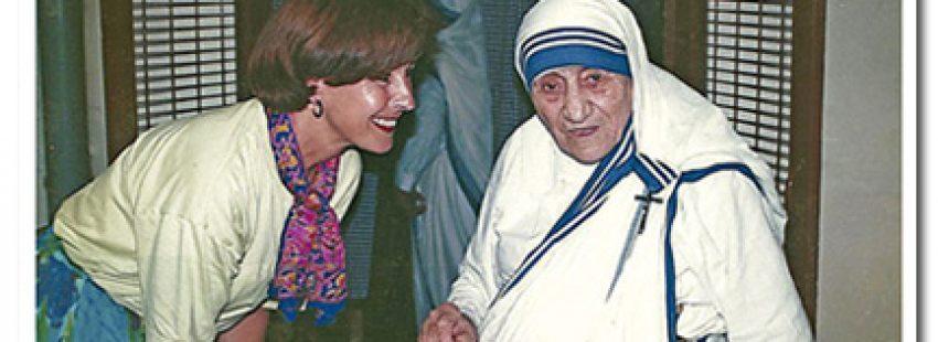 Maria Nieves León, cooperante valenciana con Madre Teresa de Calcuta