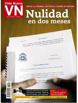 portada Vida Nueva Nulidades exprés 3004 septiembre 2016 Grande