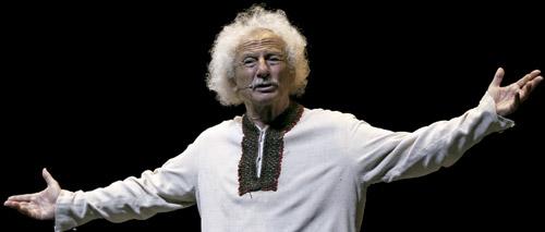 Rafael Álvarez El Brujo, actor de teatro y autor de varias obras religiosas