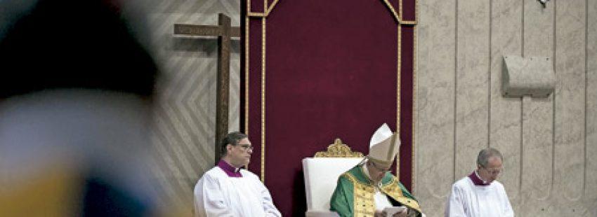 papa Francisco en la misa en la Jornada Mundial de Oración para el Cuidado de la Creación 1 septiembre 2016