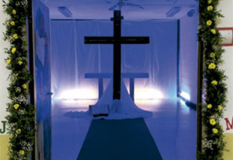 Puerta de la Misericordia en una cárcel española