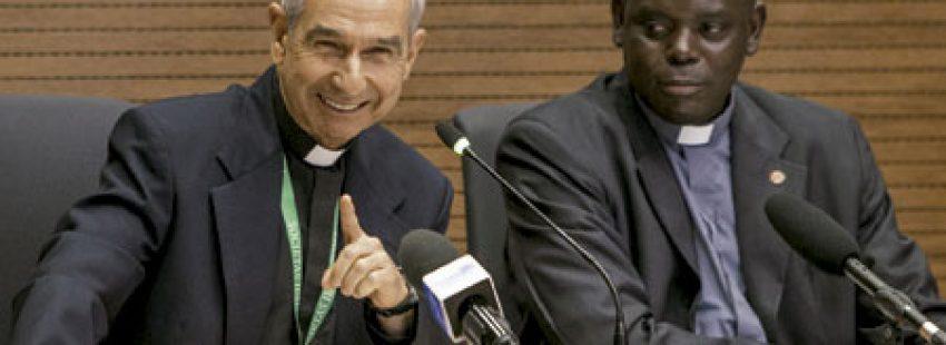 rueda de prensa de los jesuitas para presentar la 36 Congregación General de la Compañía de Jesús octubre 2016