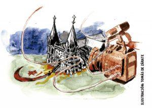 ilustración de Tomás de Zárate para artículo de Francisco Vázquez 3003 septiembre 2016