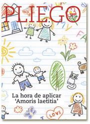 portada Pliego VN La hora de aplicar Amoris laetitia 3004 septiembre 2016