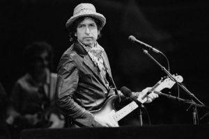 Bob Dylan, músico estadounidense cantautor Premio Nobel de Literatura 2016