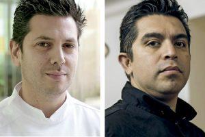 Diego Gallegos y Roberto Ruiz, chefs