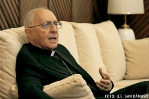 Fernando Filoni, cardenal prefecto de la Congregación para la Evangelización de los Pueblos