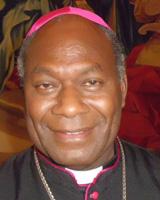 John Ribat, arzobispo de Puerto Moresby, Papúa Nueva Guinea, creado cardenal por papa Francisco 19 noviembre 2016