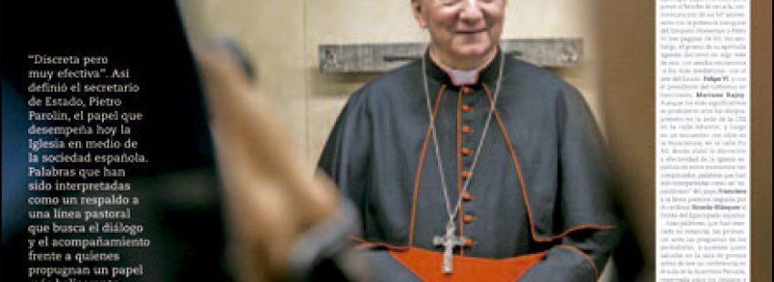apertura A fondo Visita del cardenal Pietro Parolin a España 3008 octubre 2016