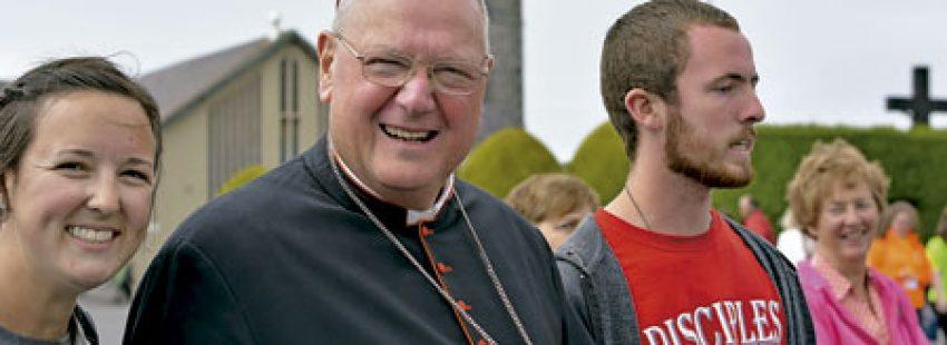 cardenan Timothy Dolan, arzobispo de Nueva York