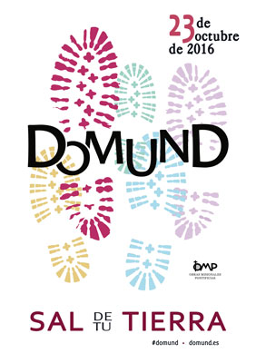 cartel del Domund 2016 23 octubre con el lema Sal de tu tierra