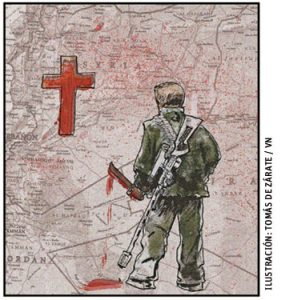 ilustración de Tomás de Zárate para el artículo de Jesús Sánchez Adalid 3008 octubre 2016