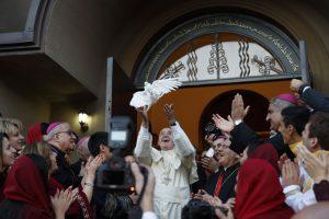 papa Francisco en Georgia encuentro con la comunidad asirio-caldea 30 septiembre 2016