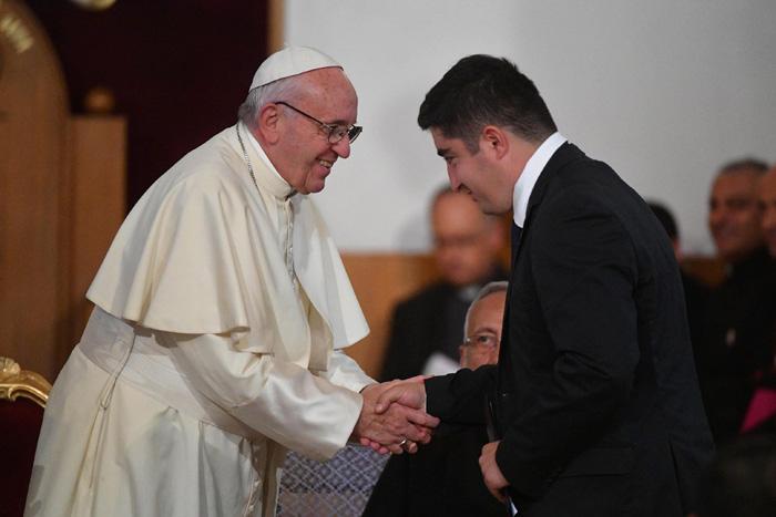 papa Francisco visita viaje Georgia encuentro con los sacerdotes, religiosos, religiosas, seminaristas y agentes de pastoral 1 octubre 2016