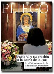 portada Pliego VN Pablo VI y su oración a la Reina de la Paz 3006 octubre 2016