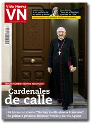 portada Vida Nueva Carlos Osoro entre los 17 nuevos cardenales 3007 octubre 2016 pequeña