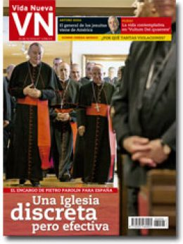 portada Vida Nueva Cardenal Parolin en España 3008 octubre 2016 pequeña