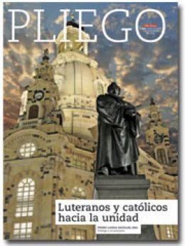 portada Pliego Luteranos y católicos hacia la unidad 3009 octubre 2016
