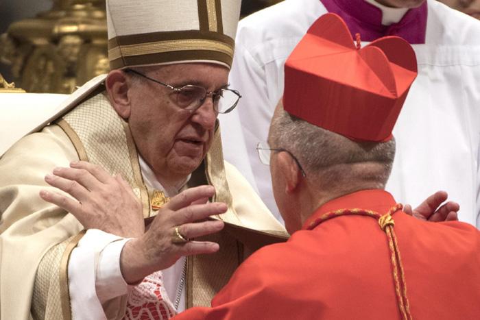 Carlos Osoro, cardenal venezolano creado por el papa Francisco consistorio 19 noviembre 2016