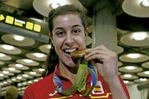 Carolina Marín, jugadora de bádminton, medalla de oro en los Juegos Olímpicos de Río