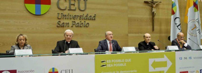 17 Congreso Católicos y Vida Pública San Pablo CEU y Asociación Católica de Propagandistas noviembre 2015