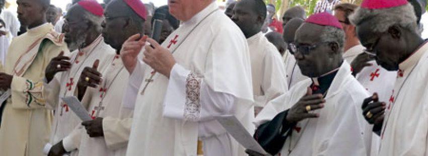 Charles Balvo, nuncio apostólico en Sudán del Sur, inaugura en la capital Juba un centro para la formación humana, pastorla y espiritual